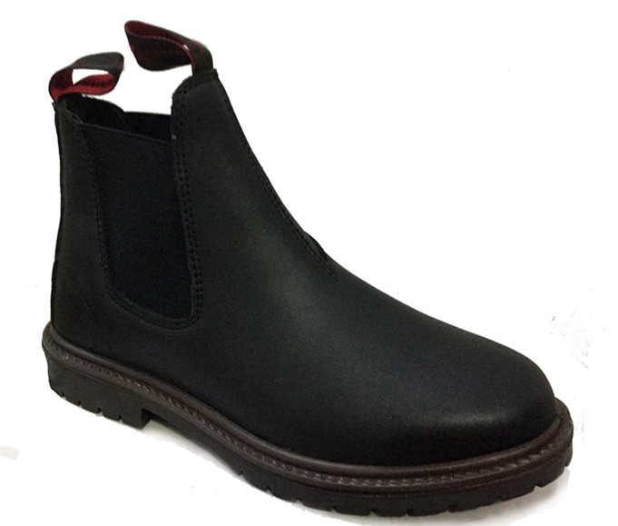 Female Elastic Sided Safety Boots